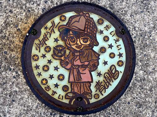 Daiei Tottori, manhole cover 5 (鳥取県大栄町のマンホール5)