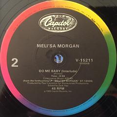 MELI'SA MORGA:DO ME BABY(LABEL SIDE-B)