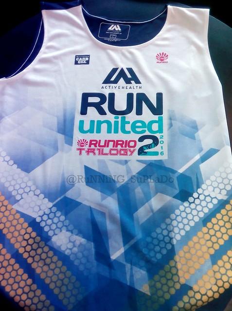 Run United 2 Singlet