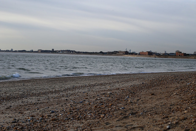 Portsea Island from Hayling Island