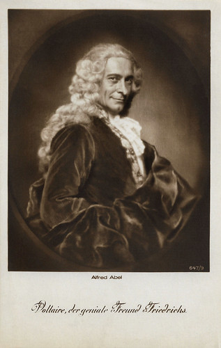 Alfred Abel as Voltaire in Fridericus Rex (1921-1922)