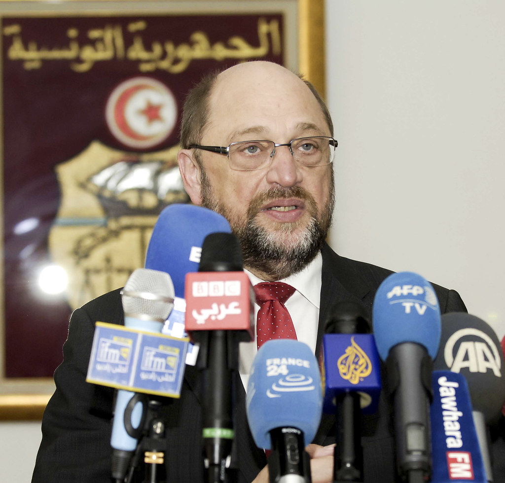 Press conference in Tunis