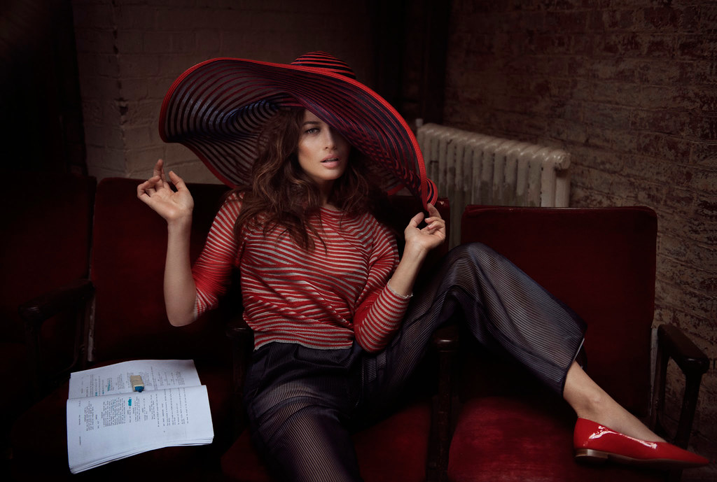 Ольга Куриленко — Фотосессия для «Glamour» IT 2016 – 2