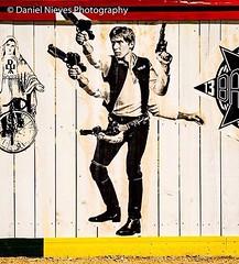 Cool drawing of Han Solo on a fence at the Hays Street Bridge   #haysstreetbridge #hansolo #sa #satx #satown #sanantonio #texas #starwars #instapic #igsanantonio #picoftheday #photoftheday #amateurphotographer #amateurphotography #streetphotography #nikon