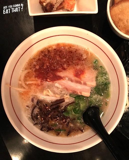 Spicy miso ramen, Ryoji Ramen & Izakaya, Toronto