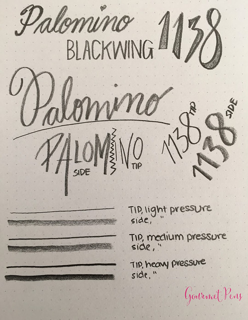 Review @Palomino Blackwing 1138 Limited Edition Pencil @BureauDirect (10)