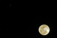 The Moon and Jupiter - Luna et Iuppiter