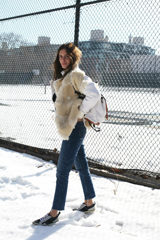 Look of the Day. 563: Freezing Whites