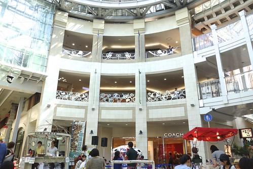 2012.9 丸亀町商店街(高松市)