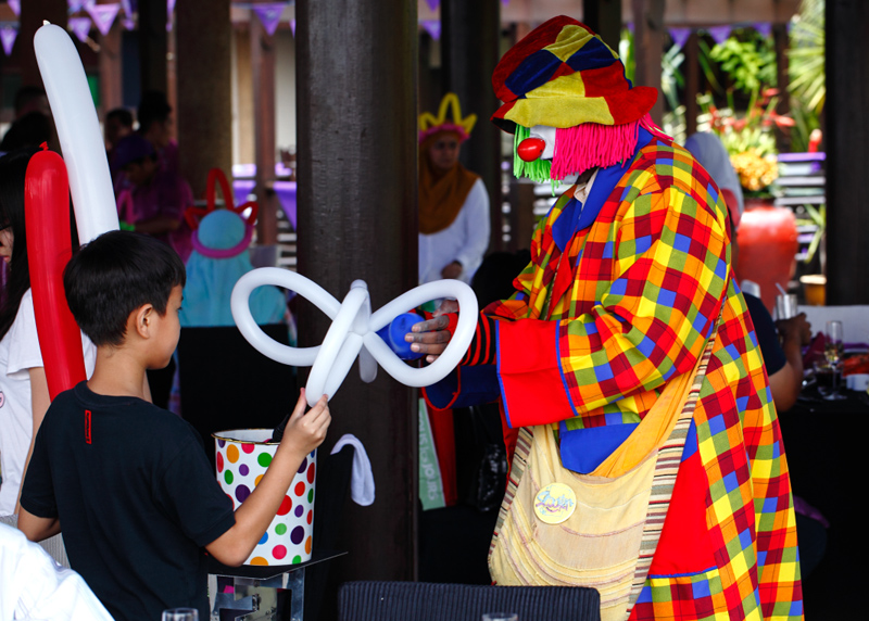 Pullman Putrajaya Epic Brunch Clown