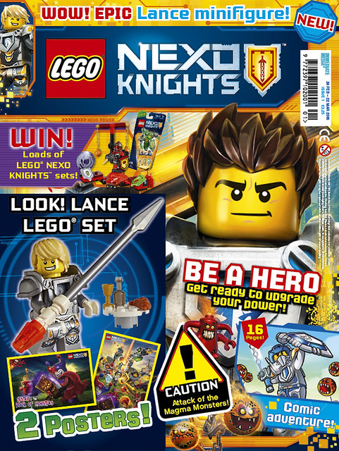 NEXO Knights magazine issue 1