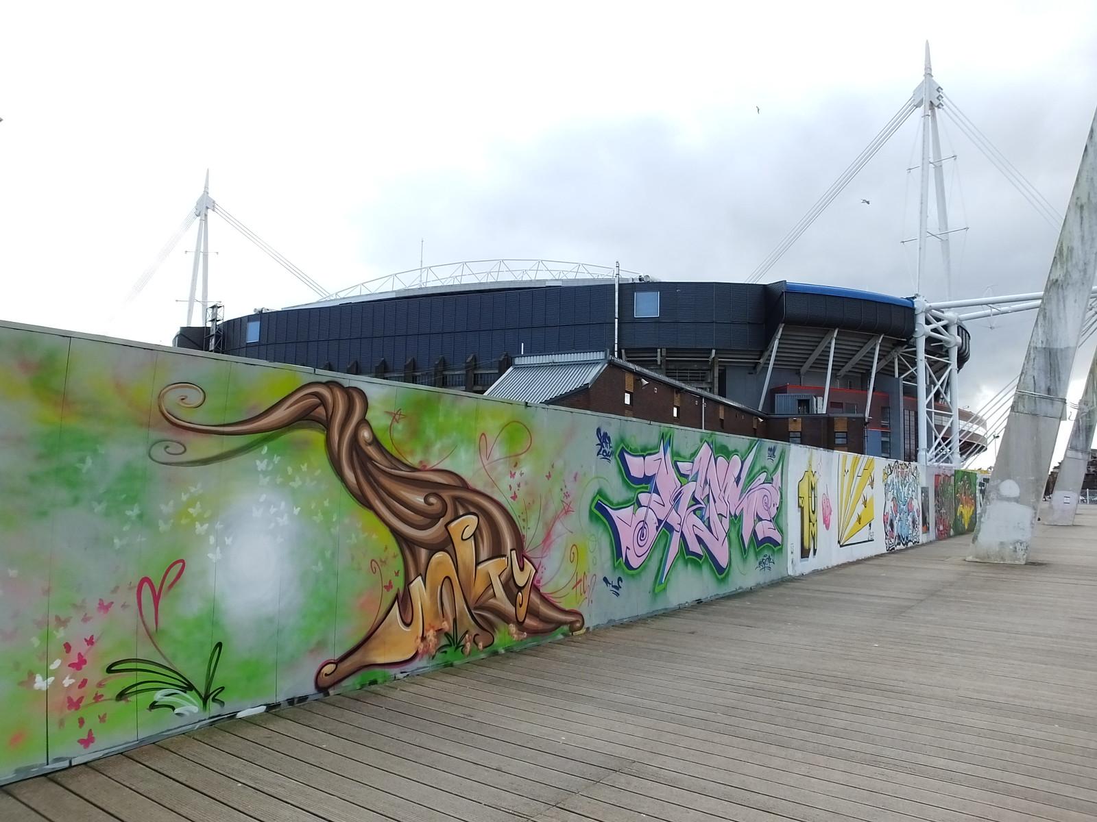 Nature Paint Jam, Cardiff