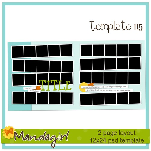 Template 115 preview