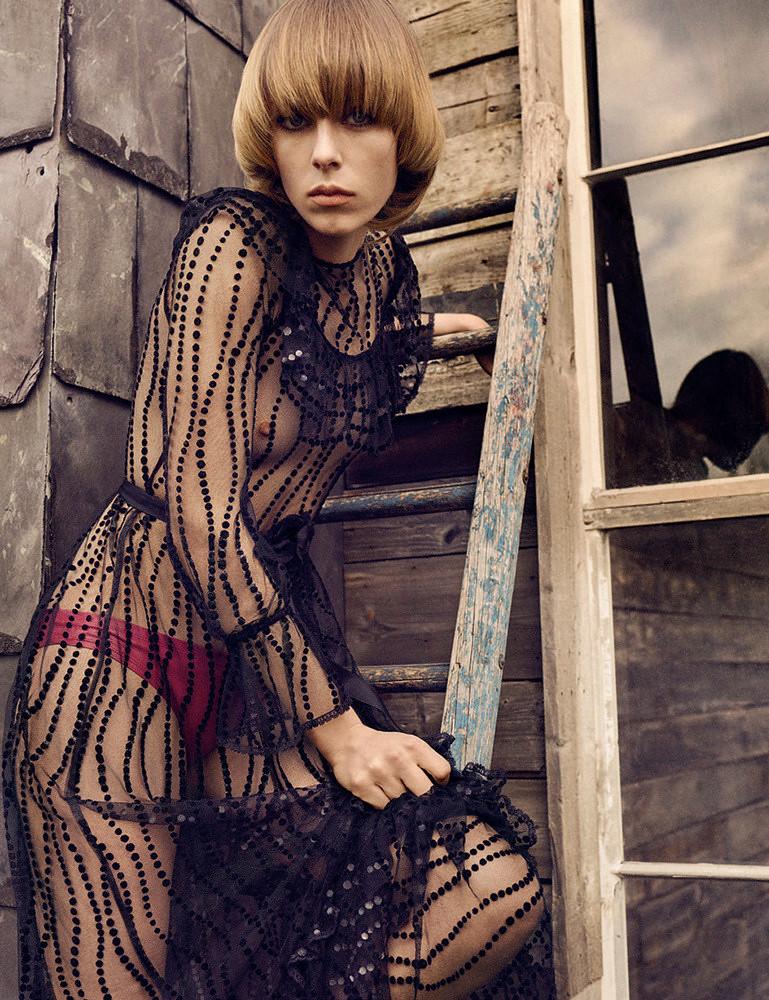 Эди Кэмпбелл — Фотосессия для «Vogue» DE 2016 – 10
