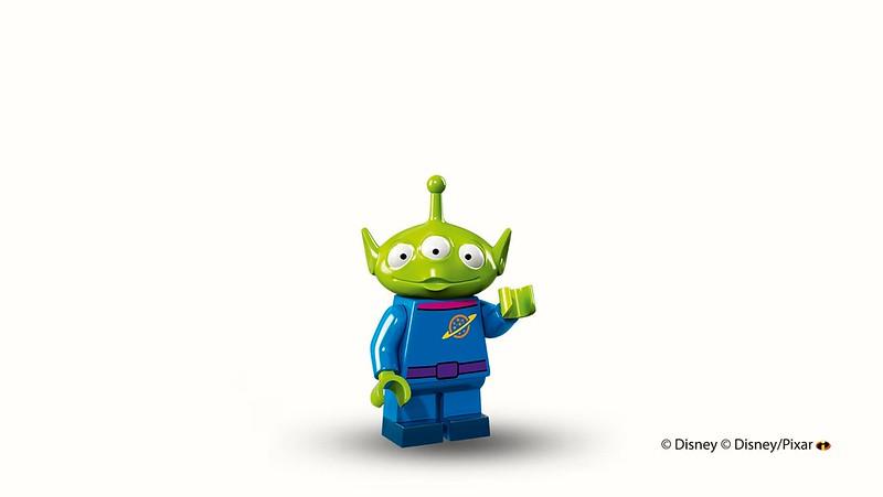 LEGO Disney Collectible Minifigures (71012) - Pizza Planet Alien