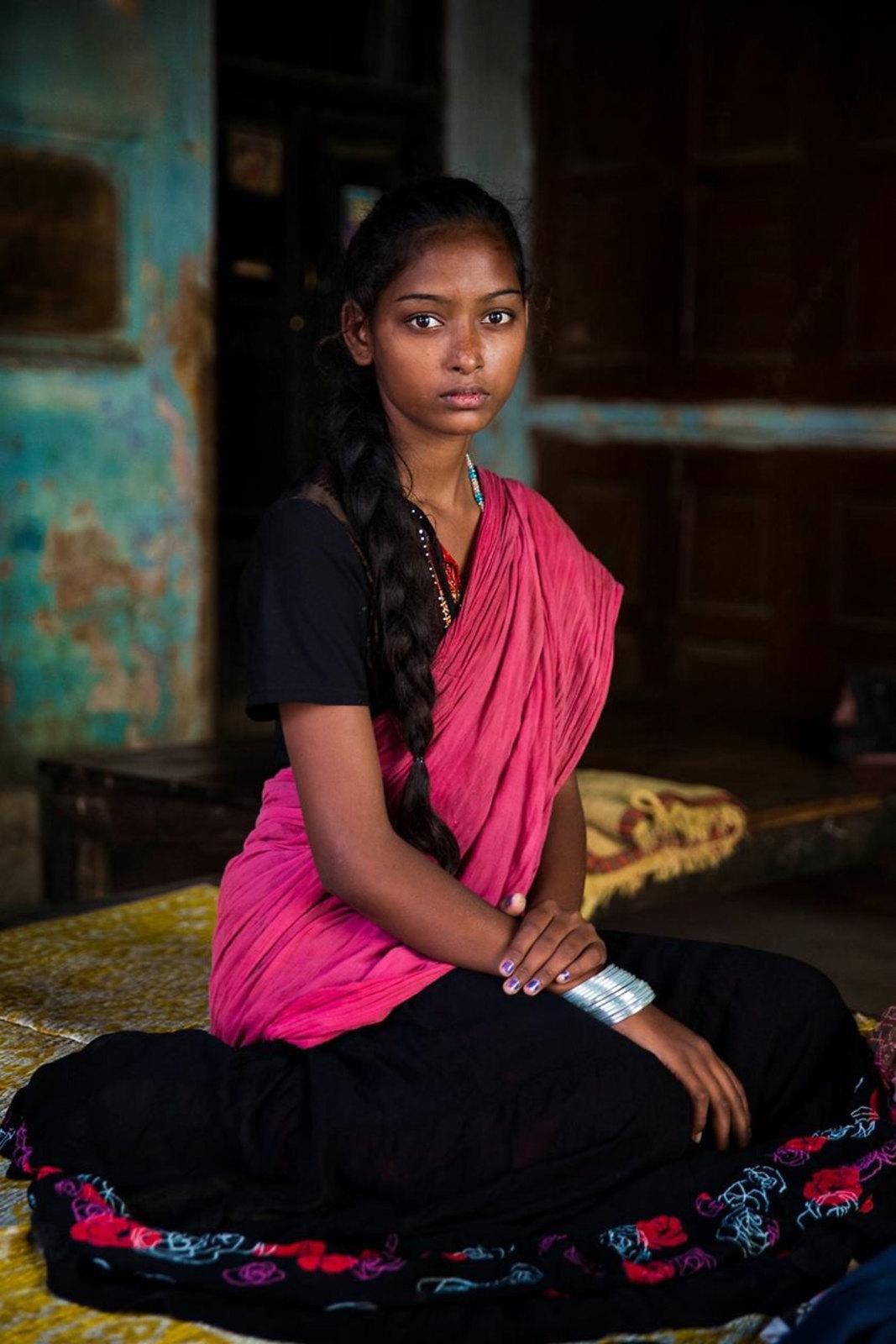 Portrait de femme, Varanasi India Photo: Mihaela Noroc