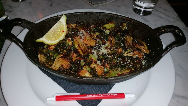 2016-Apr-2 Trattoria Burnaby - Brussel Sprouts side dish
