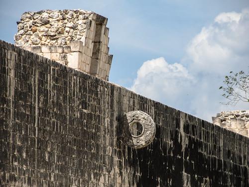 Chichen Itza: un des goals du Jeu de Pelote