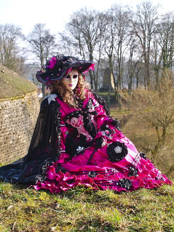 Carnaval vénitien Longwy : quelques tofs + ajouts 25746962305_30b2faf2fa_c