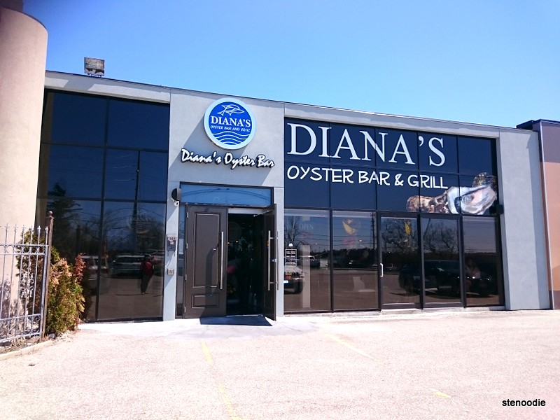 the front of Diana's Oyster Bar & Grill