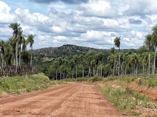 camino paisaje campo paraguay atyra