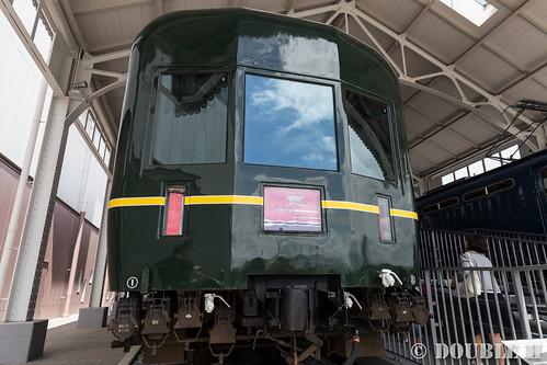 Kyoto Railway Museum (16) Twilight Plaza / Suronefu25-501 (Twilight Express)