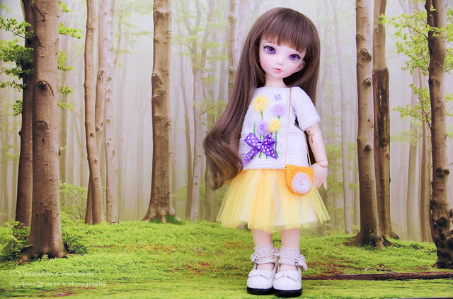 Flowers & butterfly outfit for LTF