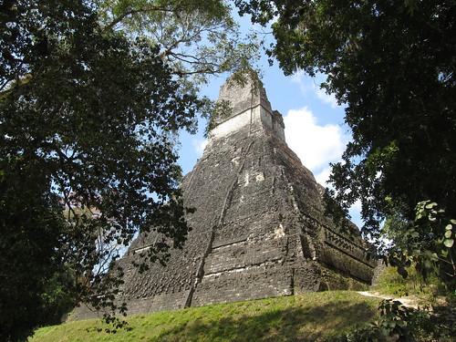 Tikal: le Temple 1 ou Temple du Grand Jaguar