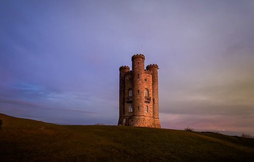 morning blue light red sky cloud sun abstract cold building green tower castle nature yellow clouds sunrise walking landscape golden countryside early spring big nikon focus frost path hill broadway first cotswolds fresh historic hills hour fields worcestershire hillside beacon hilltop folly goldenhour sunup lightroom cotswold 500px d7100