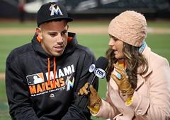 Jose Fernandez talks to FS Florida's Jessica Blaylock