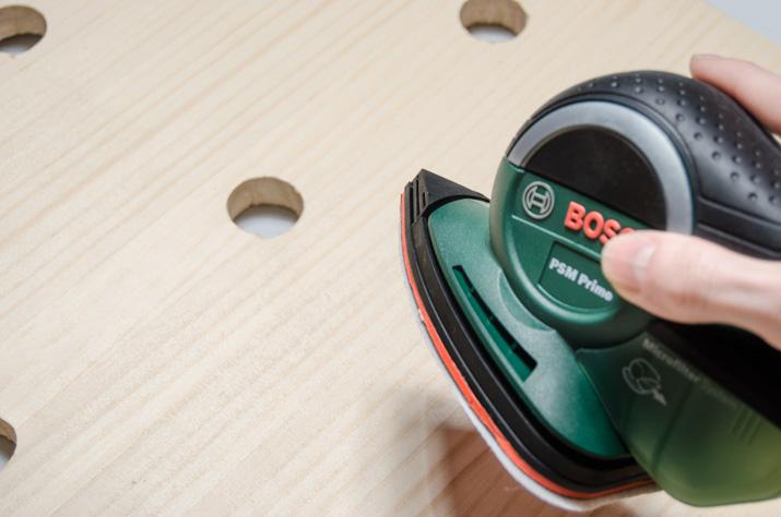 DIY Pegboard Vanity · DIY Tocador panel perforado · Fábrica de Imaginación