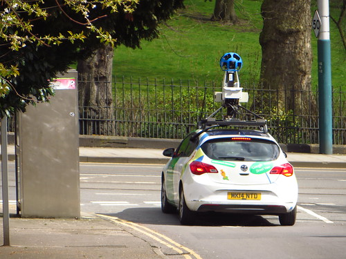 Google Car Nottingham April 2016