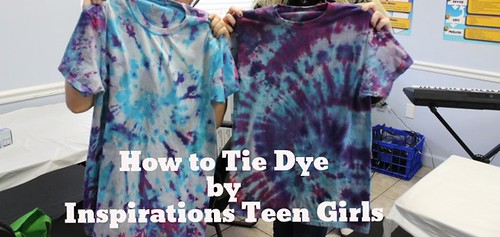 How to Tie Dye by Inspirations teen drug rehab thumbnail