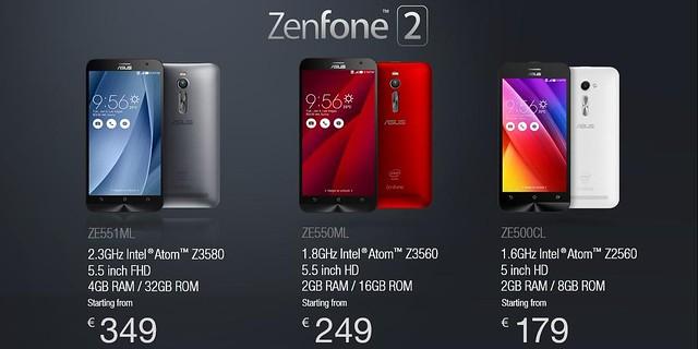 Sự đổi mới của Zenfone qua từng thế hệ - Tiếp bước để phát triển tương lai - 120579