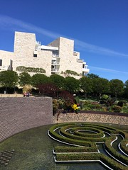 Friday at the Getty Center