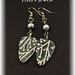 Forest white tree earrings by Eala's Jewels
