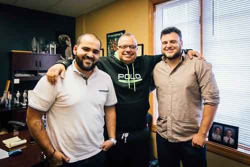 Ricardo, Matt & Frank