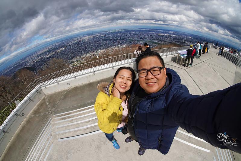 mount tengu selfie