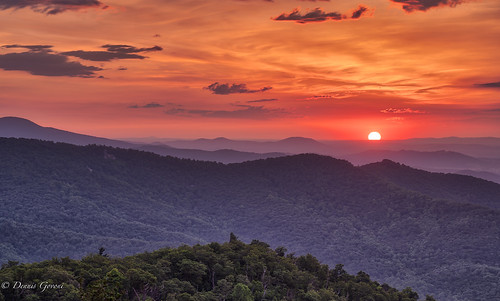 shenandoah virginia clouds landscape landscapemountain mountains sunrise trees