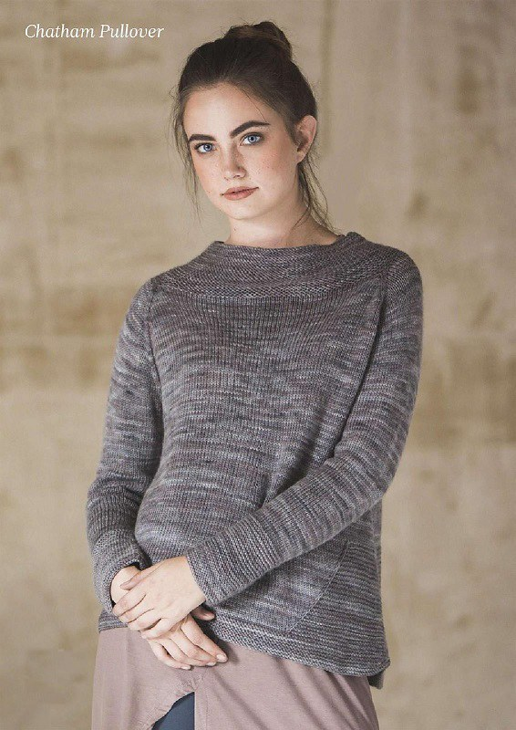 Knitted Pullover Chatham For Women Free Knitting Pattern Flickr