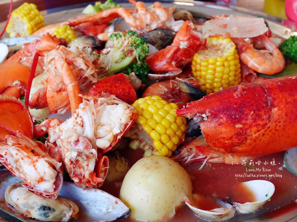 新竹南寮好吃海鮮大餐美食推薦老漁港新海鮮餐廰龍蝦 (2)