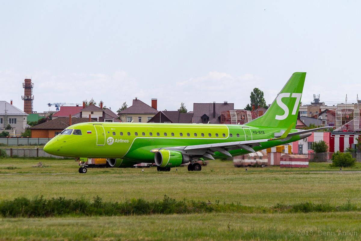 S7 Airlines первый рейс в Саратов фото 1