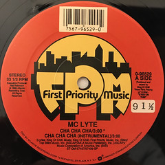 MC LYTE:CHA CHA CHA(LABEL SIDE-A)