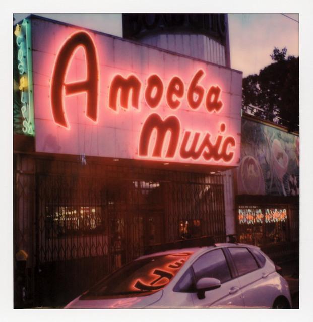 Amoeba Music Neon 1