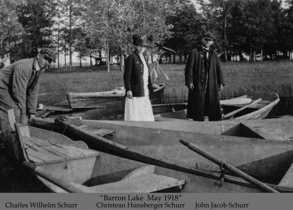 Schurr, Dorothea album - Barron Lake, May 1918 | Historic