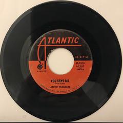 ARETHA FRANKLIN:THINK(RECORD SIDE-B)