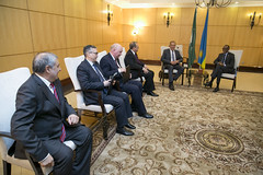 President Kagame meets with Sergey Lavrov, Minister of Foreign Affairs of Russia | Kigali, 3 June 2018