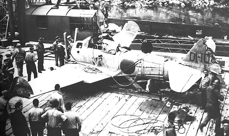 Captured Japanese Zero. It was captured intact by U.S. forces in July 1942 on Akutan Island, after the Dutch Harbor Attack and became the first flyable Zero acquired by the United States during the Second World War. It was repaired and made its first test flight in the U.S. on September 20, 1942.