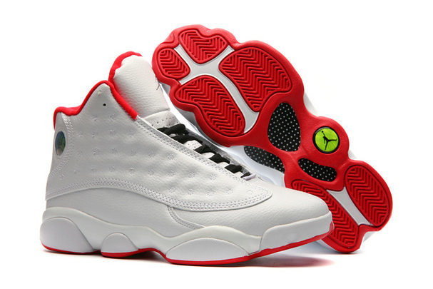 competitive price 1e4cc cbbde Cheap Nike Air Jordan 13 XIII Super A White Red Black - ww ...