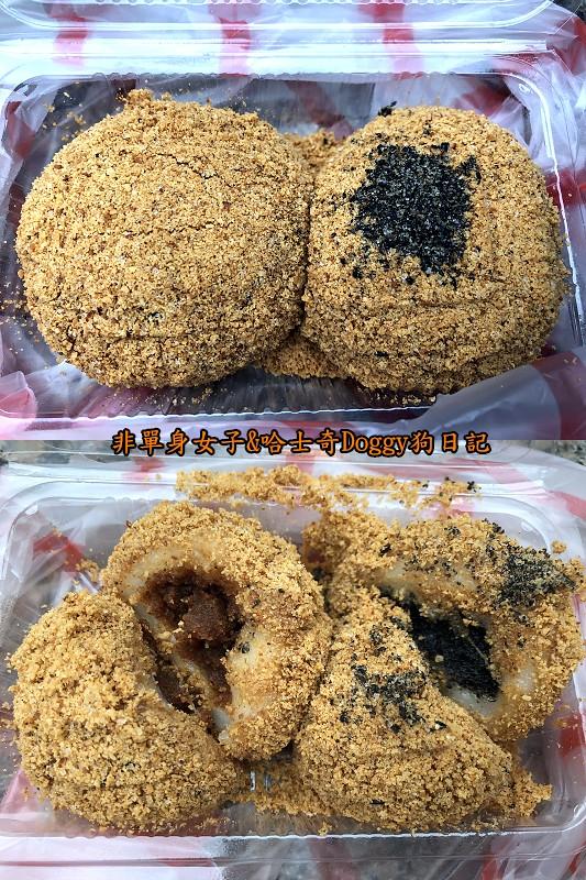 新竹城隍廟美食14周家燒麻糬